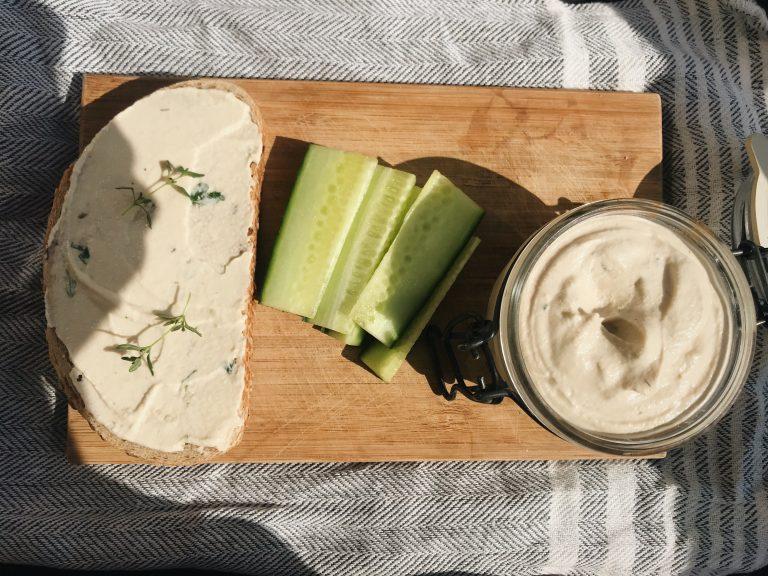 Vegán sajtkrém kesuból