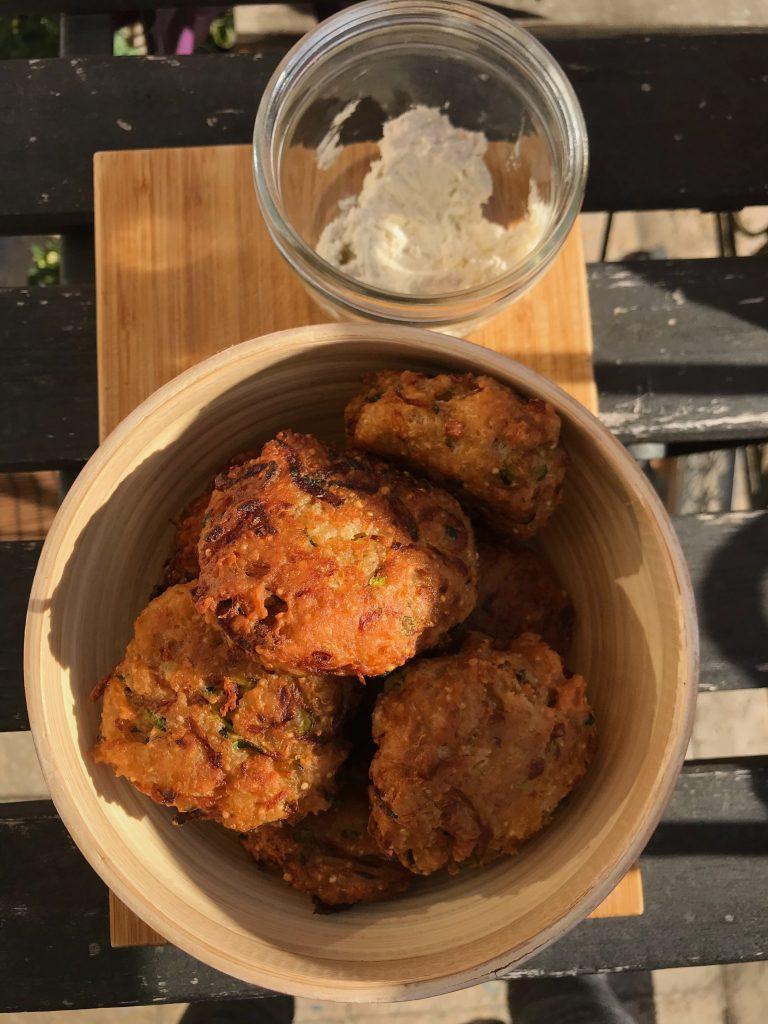 Cukkinis Quinoa-fasirt (nyári tökből is elkészíthető)